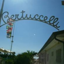 Insegna del Bagno Bertuccelli