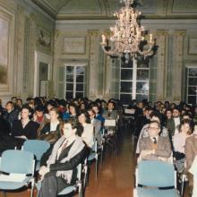Interni Villa Sardi durante convegno