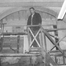 Scala interno vecchio laboratorio