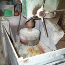 Carotatrice per taglio e lavorazione pietre e marmi