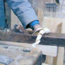 Taglio, limatura del legno