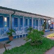 Veduta delle cabine del Bagno Bertuccelli