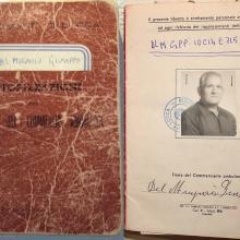 La licenza originale del 1952 di Del Mugnaio Giuseppe