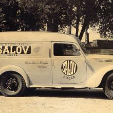 Camioncino pubblicitario Salov anni '50