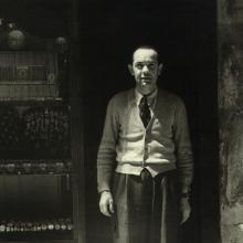 Negozio di Via Fillungo con Gino Ghiselli anni 1960