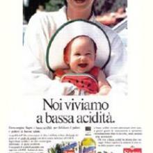 Sagra annuncio pubblicitario anni '90