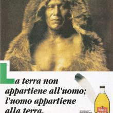Sagra pagina Oliviero Toscani anni '90