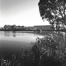 Stabilimento Salov Massarosa vista dal lago