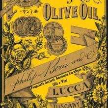 Etichetta originale Filippo Berio