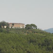 Vista panoramica della Tenuta Maria Teresa
