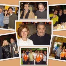 I titolari, il personale e alcuni personaggi famosi ospitati