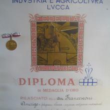 Premiazione Fedeltà al lavoro Francesconi Amerigo 1955