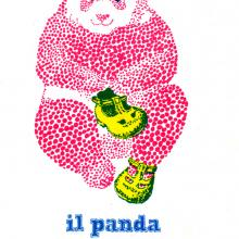 Il Panda - primo logo