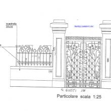 Progetto di un cancello da realizzare