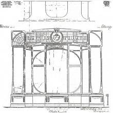 Progetto Arch. Colombini del 1912