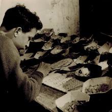 Aldo Bertellotti all'opera - anni '60