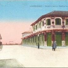 Il Bagno Nettuno negli anni '20 ricostruito dopo il 2° incendio