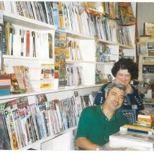 La Sig. ra Maria Paola Pini col marito, titolari fono al 2008