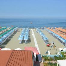 Veduta aerea spiaggia Bagno Bertuccelli
